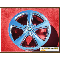 "BMW 7-series Sport Style 128 OEM 21"" Set of 4 Chrome Wheels"