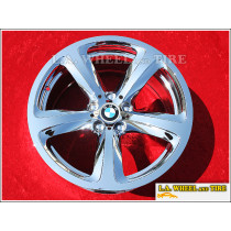 "BMW 650i Style 249 OEM Forged 19"" Set of 4 Chrome Wheels"