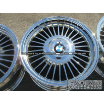 "BMW 750iL Style 4 OEM 16"" Set of 4 Chrome Wheels"