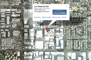 L.A. Wheel and Tire Google Places Page