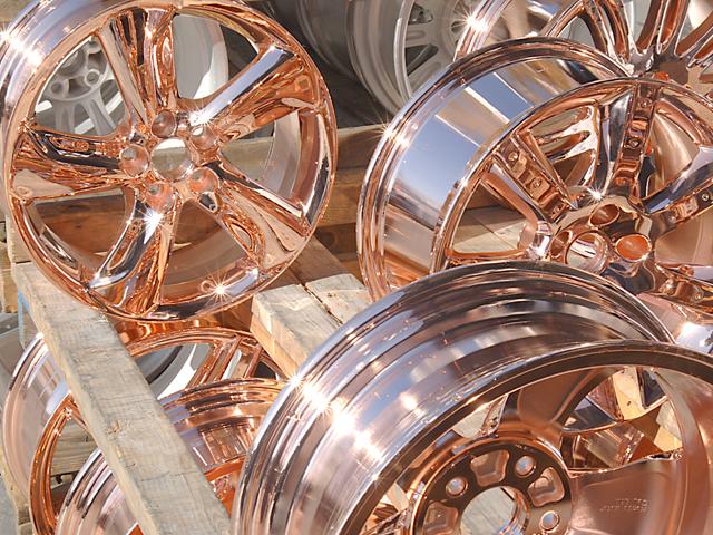 L A  Wheel - Chrome OEM Wheel Experts | chroming process