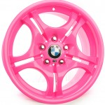Custom Pink Powder Coat