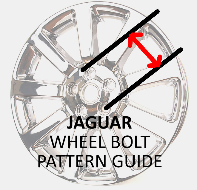 L A Wheel Chrome Oem Wheel Experts Bolt Pattern Guide For Jaguar Wheels And Rims L A Wheel And Tire Oem Chrome Wheels