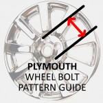 Wheel Bolt Patterns: Plymouth