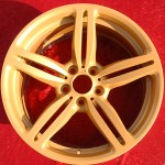 Custom Gold Powder Coat