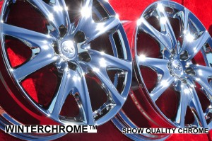 SnowChrome™ vs. Triple Trivalent Chrome
