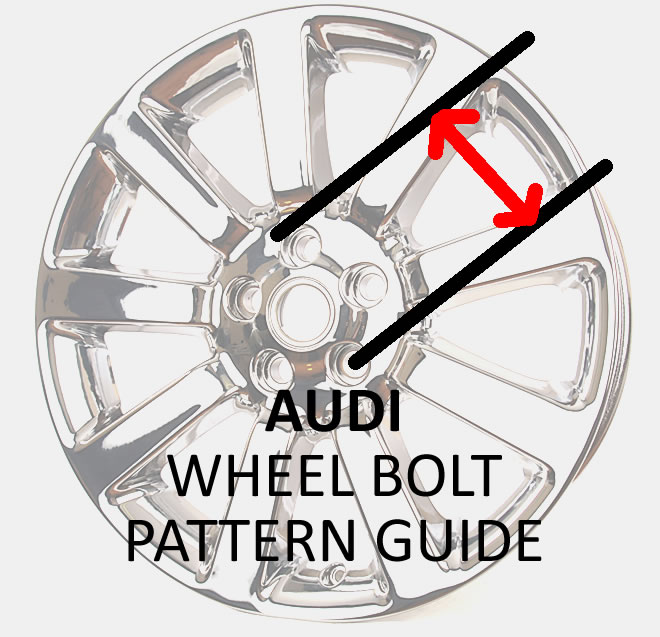 LA Wheel Chrome OEM Wheel Experts Wheel Bolt Patterns Audi Awesome Audi Bolt Pattern