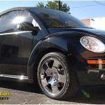 2007 VW Beetle with Chrome Audi TT wheels