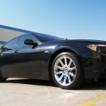 BMW 745i with L.A. Wheel Chrome wheels