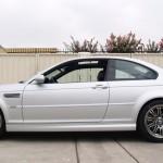 BMW M3 with L.A. Wheel Chrome wheels