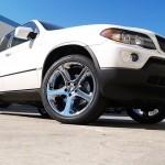 BMW X5 with L.A. Wheel Chrome wheels