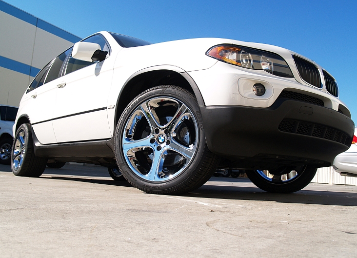 L A Wheel Chrome Oem Wheel Experts Bmw Install