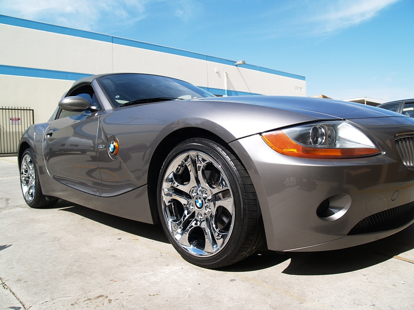 L A Wheel Chrome Oem Wheel Experts Bmw Install
