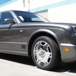 Bentley with L.A. Wheel Chrome wheels