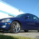 Lexus with L.A. Wheel chrome rims