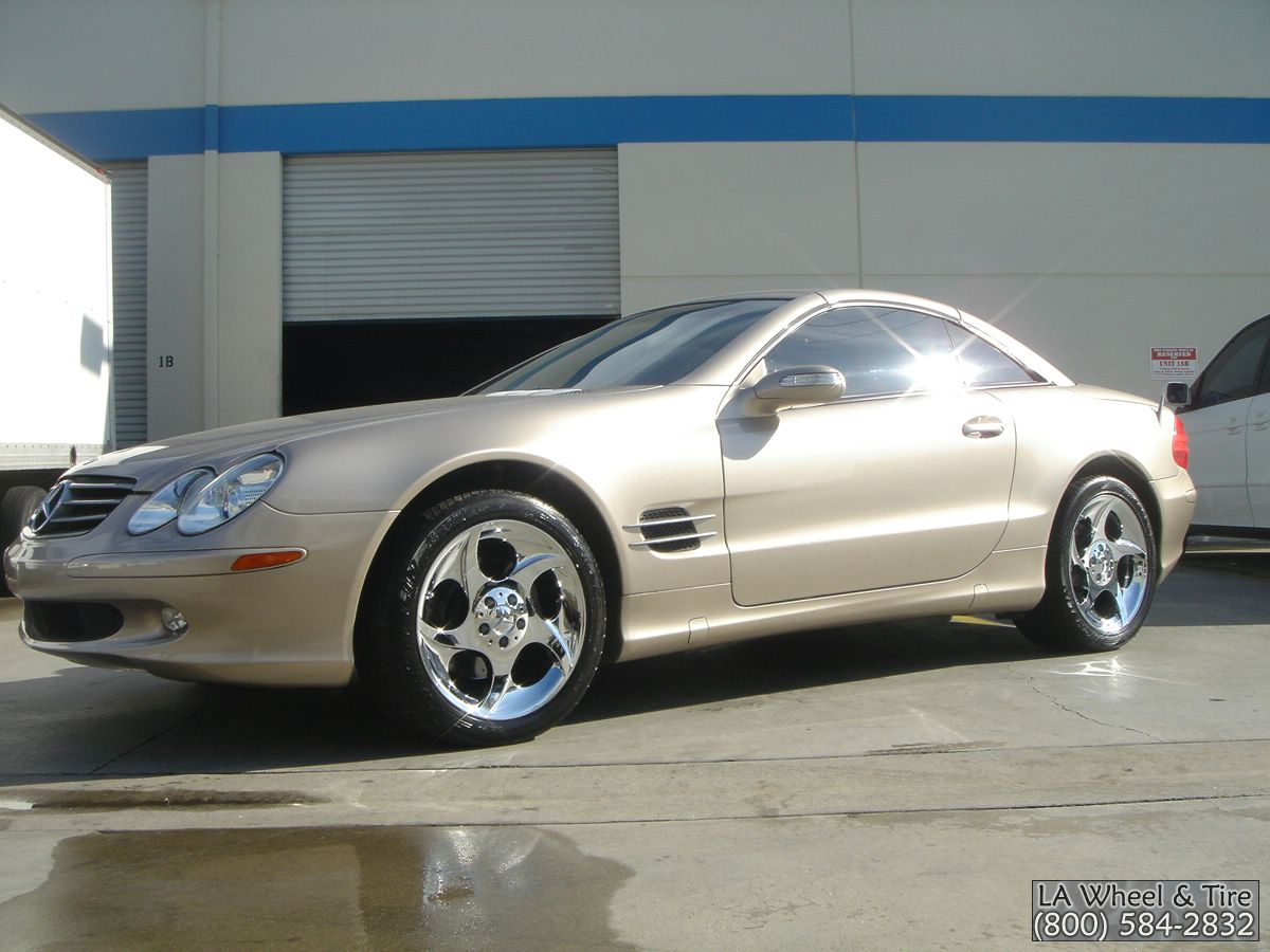 L A Wheel Chrome Oem Wheel Experts Oem Mercedes Wheels Rims