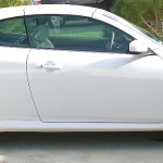 Infiniti G37 with L.A. Wheel chrome wheels