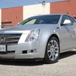 Cadillac with L.A. Wheel Chrome wheels