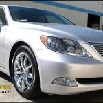 Lexus with L.A. Wheel chrome wheels