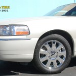 Lincoln with L.A. Wheel chrome wheels