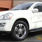 Mercedes ML-Class with L.A. Wheel Chrome Wheels
