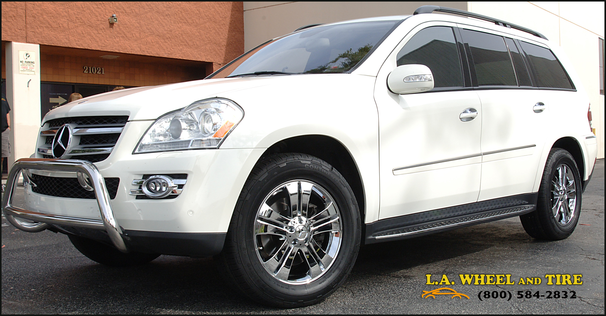 L a wheel chrome oem wheel experts mercedes benz clk for Mercedes benz chrome