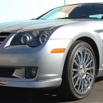 Chrysler Crossfire with L.A. Wheel Chrome wheels
