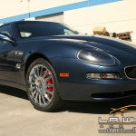 Maserati with L.A. Wheel Chrome wheels