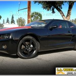 Chevy Camaro with Custom Black Powder Coat
