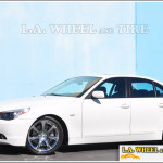BMW M5 with L.A. Wheel WinterChrome™ finish
