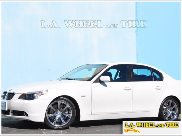 BMW M5 with L.A. Wheel WinterChrome™ finish
