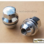 Land Rover Chrome Lugs 14 x 1.5 Large Mag style LN3500