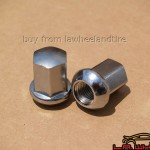 Porsche Chrome Lugs 14 x 1.5 ball seat LN3600