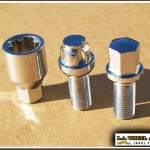 Porsche Chrome Lug Bolts 14 x 1.5 30mm LB2200