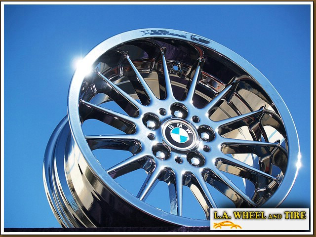 l a wheel chrome oem wheel experts bmw 5 series style. Black Bedroom Furniture Sets. Home Design Ideas
