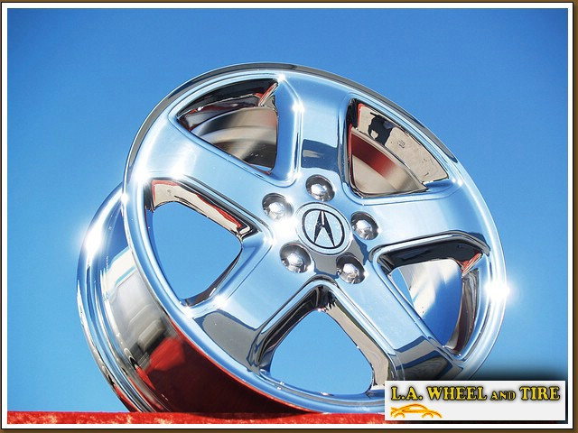 L.A. Wheel - Chrome OEM Wheel Experts | Acura TL Type-S ...