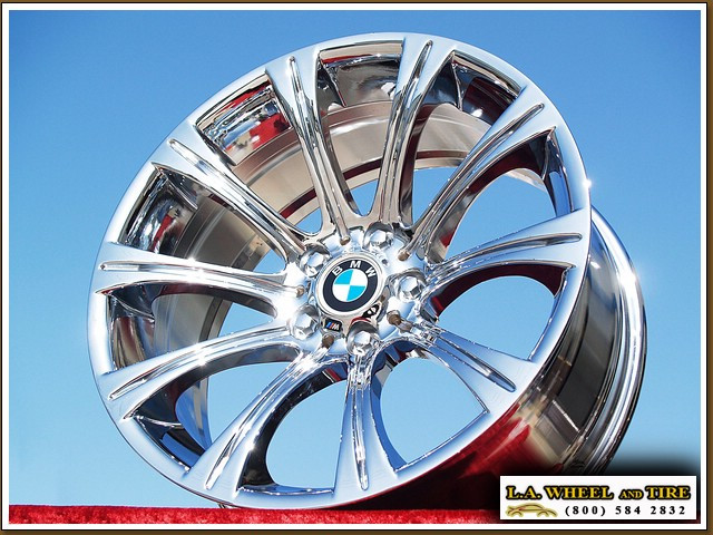 "Bmw Factory Warranty >> L.A. Wheel - Chrome OEM Wheel Experts | BMW M5 / M6 Style 166 (M166) OEM 19"" Set of 4 Chrome ..."