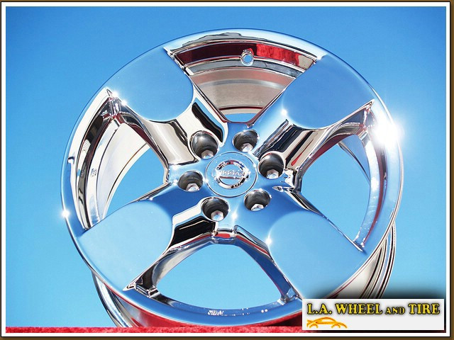 L.A. Wheel - Chrome OEM Wheel Experts | Nissan Frontier ...