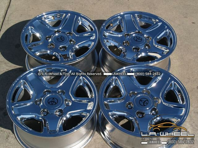 Toyota 4Runner Aftermarket Accessories >> L.A. Wheel - Chrome OEM Wheel Experts | Toyota T100 ...