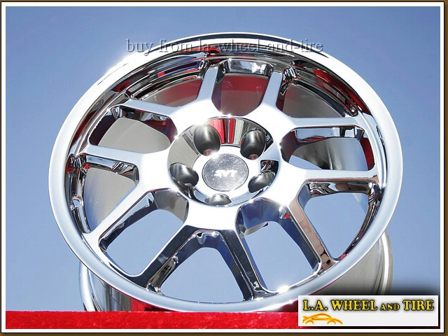 L A Wheel Chrome Oem Wheel Experts Ford Mustang