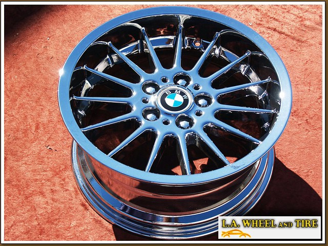 L A Wheel Chrome Oem Wheel Experts Bmw 5 Series Style