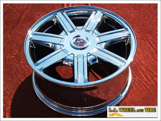 L A Wheel Chrome Oem Wheel Experts Cadillac Srx Oem