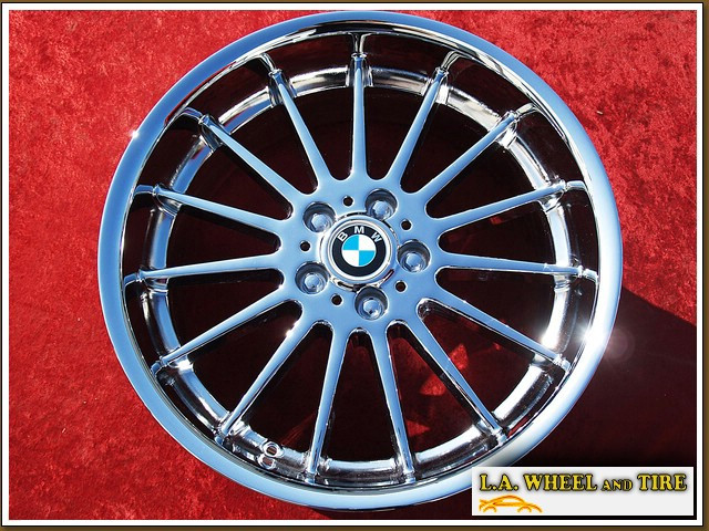 L A Wheel Chrome Oem Wheel Experts Bmw 7 Series Style