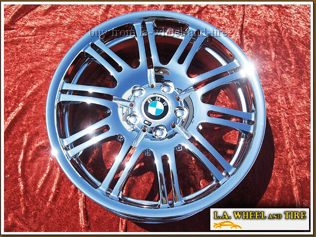 L A Wheel Chrome Oem Wheel Experts Bmw M3 Style 67