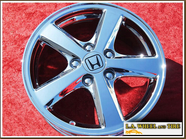 la wheel chrome oem wheel experts honda accord oem  set   chrome wheels