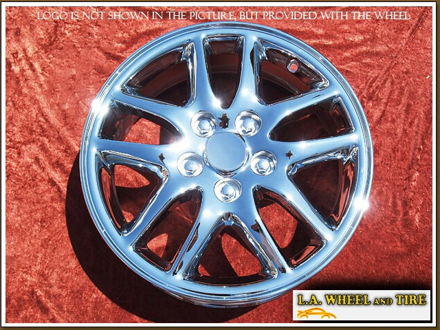 L A Wheel Chrome Oem Wheel Experts Toyota Camry Oem