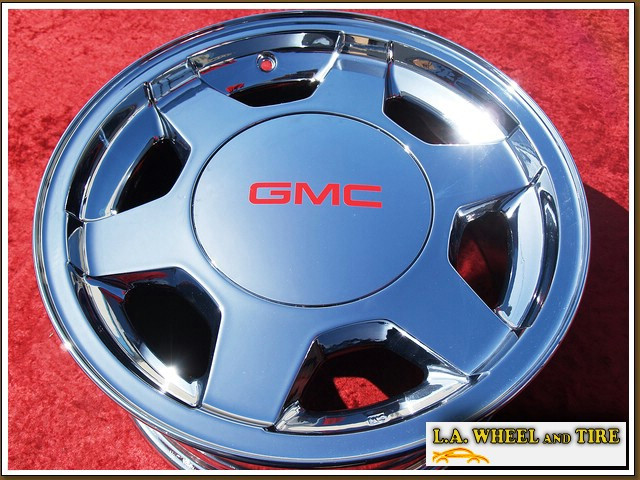 L A Wheel Chrome Oem Wheel Experts Gmc Sierra 1500
