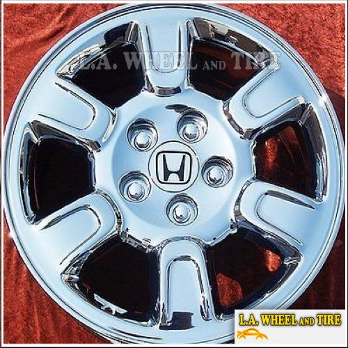 "Honda Ridgeline OEM 17"" Set of 4 Chrome Wheels 63895"