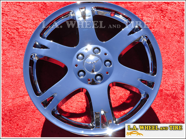 "Mercedes-Benz ML320/ML350 OEM 19"" Set of 4 Chrome Wheels"