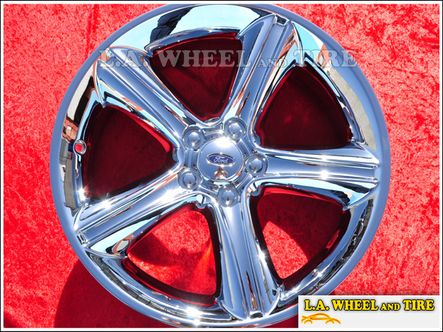 "Ford Mustang OEM 19"" Set of 4 Chrome Wheels"